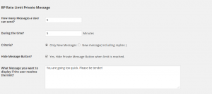 buddypress-private-message-rate-limiter-settings