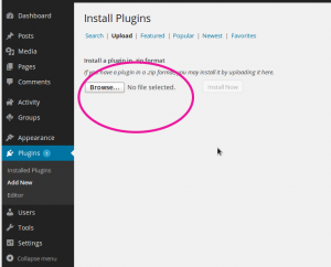 plugin-upload-screen