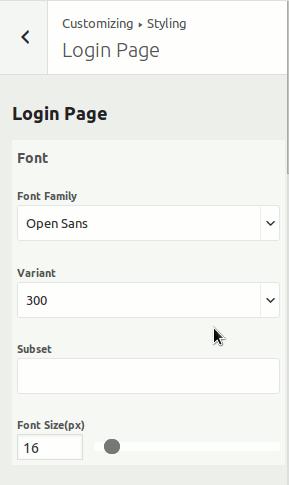 Family base login