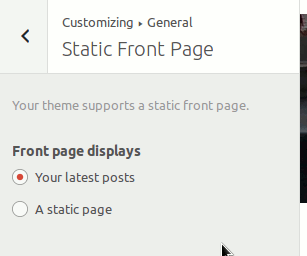general-static-front-page