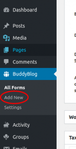 Creating BuddyBlog Pro User Posting form