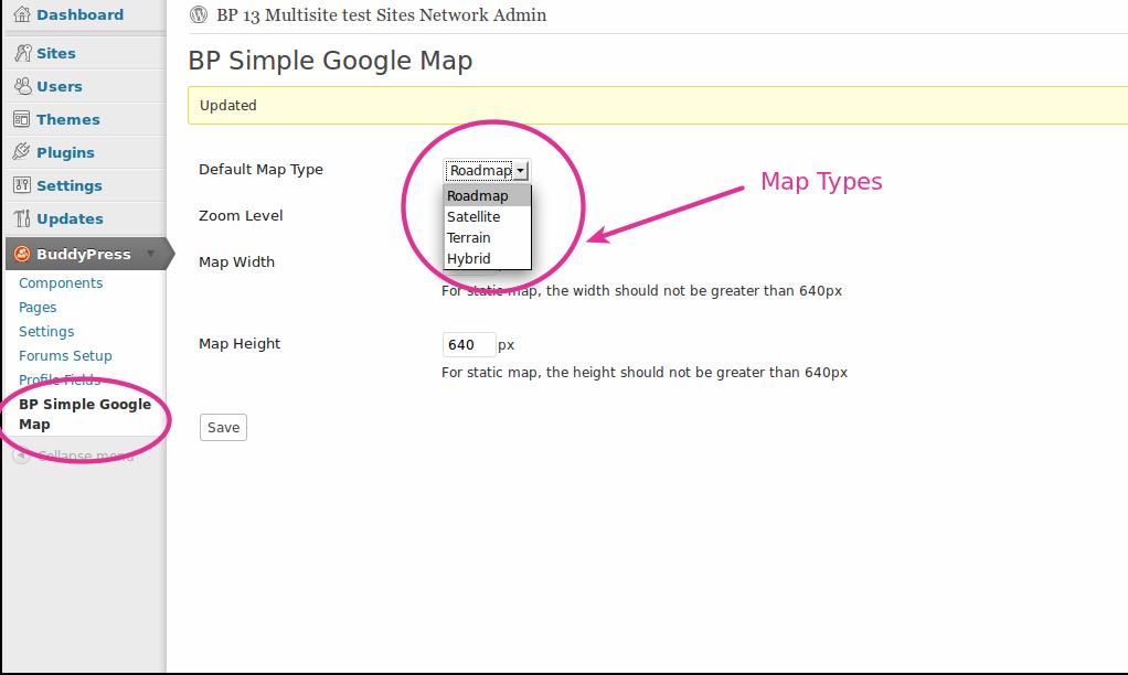 Buddypress Simple Google Map Buddypress Plugins Buddydev