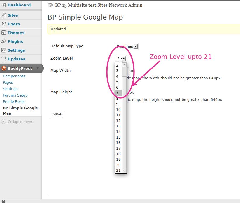 Introducing Buddypress Simple Google Map Plugin Buddydev