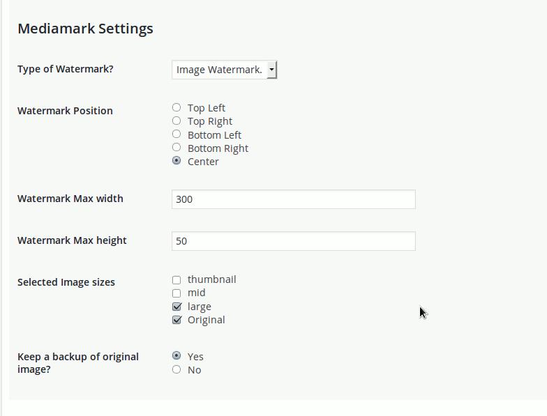 mediamark-general-settings