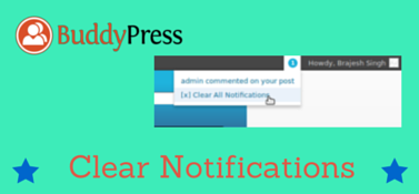 BuddyPress Clear Notifications