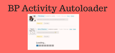 BuddyPress Activity Autoloader