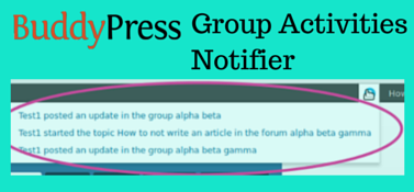 BP Group Activities Notifier