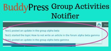BP Group Activities Notifier