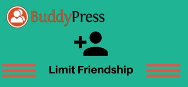 BuddyPress Limit Friendship
