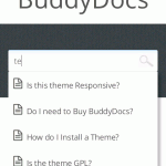 Responsive search