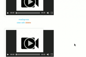 Widget Video list view