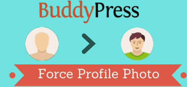 BuddyPress Force Profile Photo