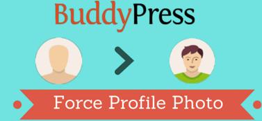 BuddyPress Force Profile Photo