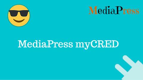 MediaPress myCRED Addon