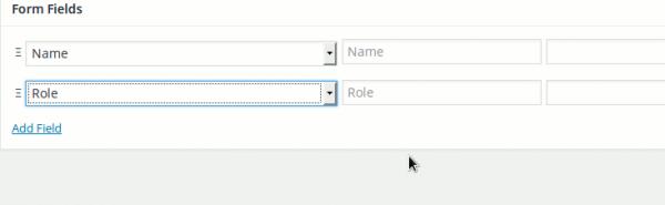 BP Profile search Form
