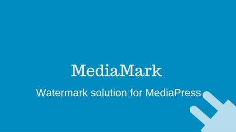 MediaMark: – Watermarking Solution for MediaPress