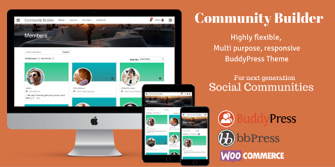Download Best Free & Premium Buddypress Wordpress Themes • BuddyDev