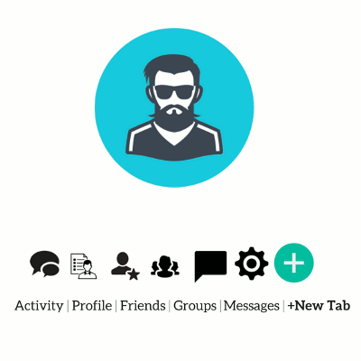 BuddyPress User  Profile Tabs Creator Pro