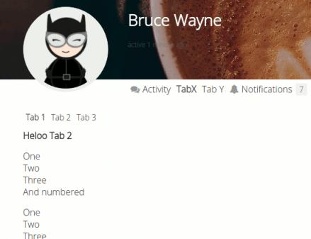 BuddyPress User  Profile Tabs Creator Pro