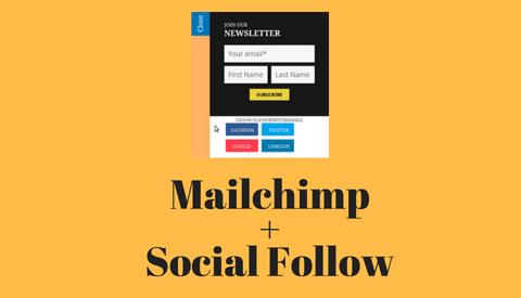 Social Subscribe Box