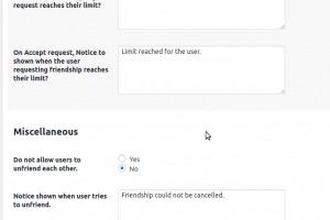 BuddyPress Friendship Disable Unfriending or removing friend