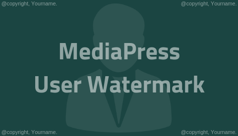 MediaPress User Watermark