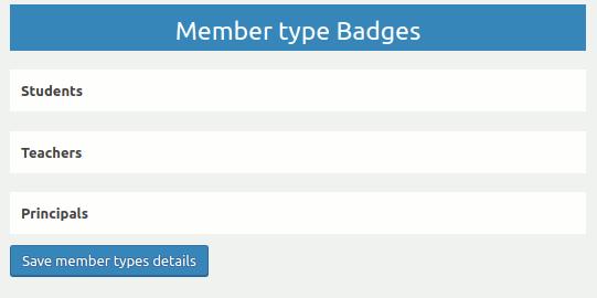 Member Type Based