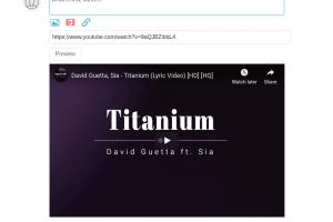 BuddyPress Activity Youtube video sharing
