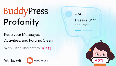 BuddyPress Profanity Filter