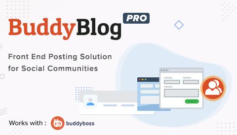 BuddyBlog Pro