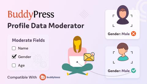BuddyPress Profile Data Moderator